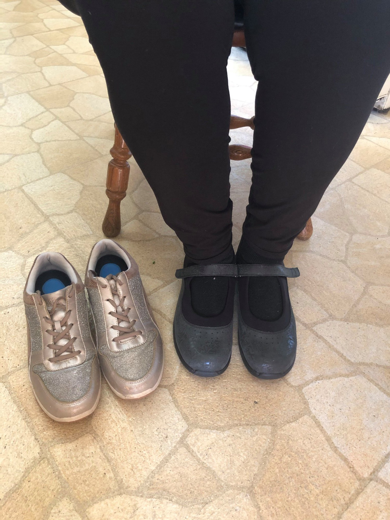 Patricia Wearing Her Drew's