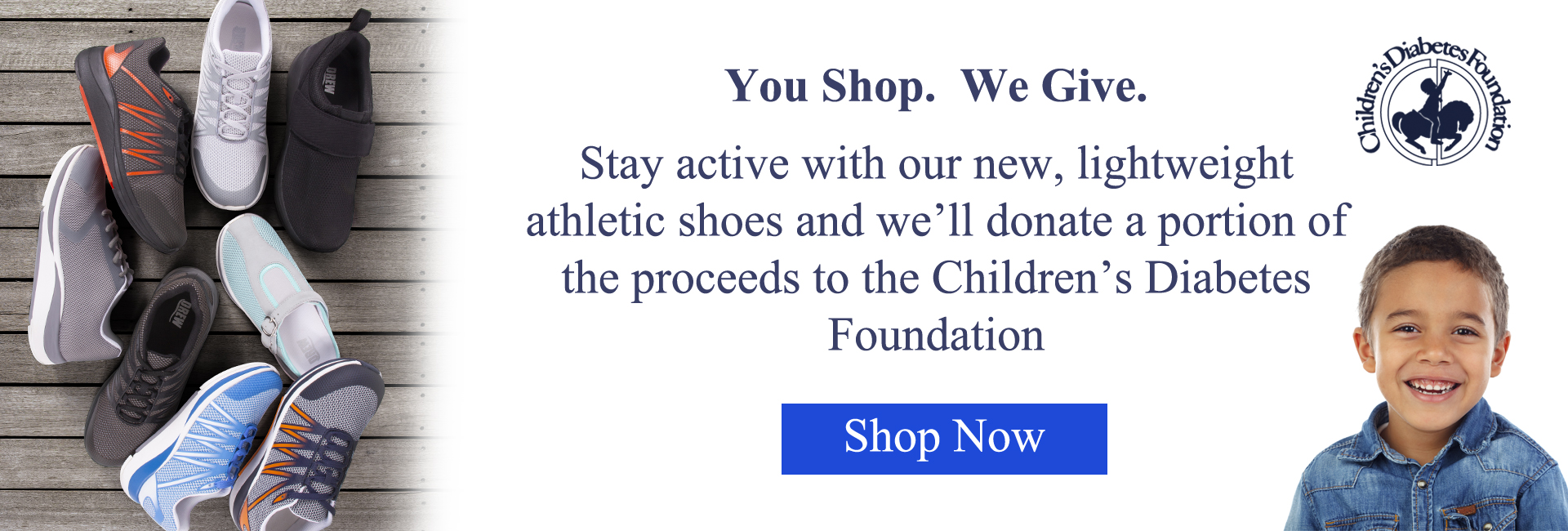 You Shop. We Give.